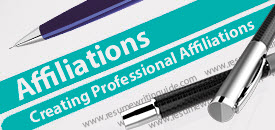 affiliations_resume_sections
